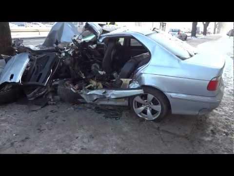 After Crash Wypadek BMW Gdańsk 03.02.2012 Al.Grunwaldzka - Accident