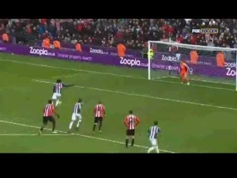 West Brom vs Sunderland 2:1 Highlights 23/02/2013 ALL GOALS HD LUKAKU BRACE