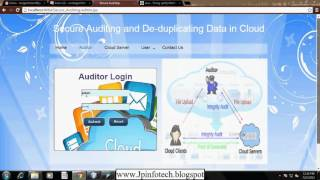 Secure Auditing and Deduplicating Data in Cloud