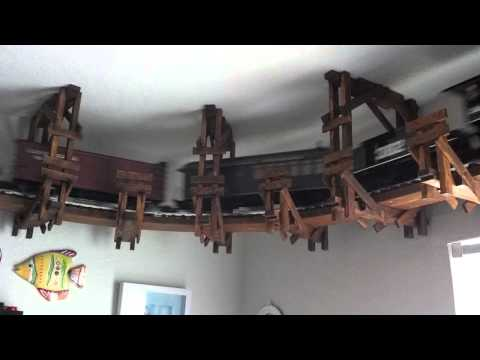 Ceiling train set
