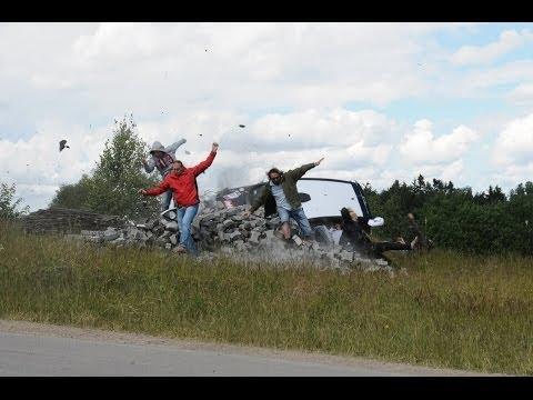 Rajd Kaszub 2014 Wypadek Citroen C2