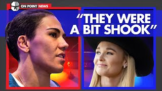 "2 UFC Female Fighters See Opposite Sides Of The Law - ""They Were A Bit Shook"""
