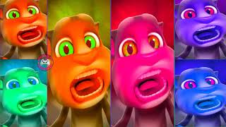 Learn Colors with My Talking Tom Colours for Kids Animation Education Cartoon Compilation P1I