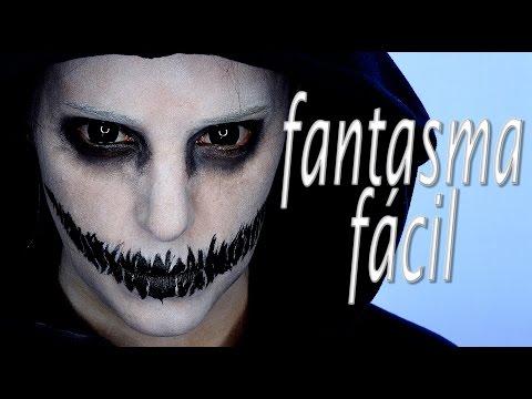 Tutorial Maquillaje Halloween Fantasma Fácil   Silvia Quiros