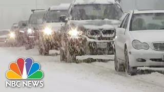 Freezing Temperatures Close 80 Chicago Schools | NBC Nightly News