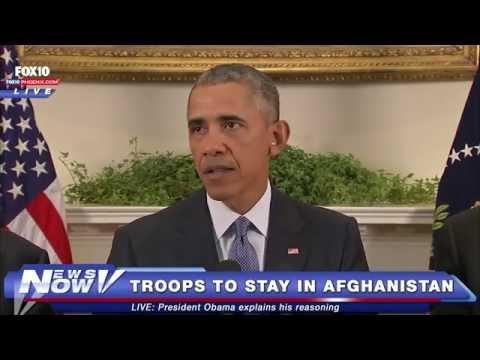 FNN: Barack Obama Speaks About Afghanistan Troop Withdrawal