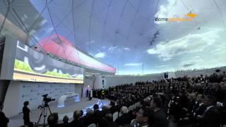 Nord Stream Pipeline Inauguration in Lubmin 08-11-2011