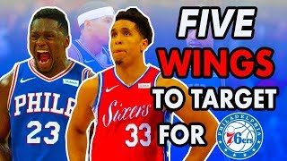 Five Forwards The 76ers Can Target If Jimmy and Tobias Don't Resign | 2019 NBA Free Agency