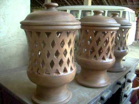 Lumin rias de ceramica para jardim youtube for Ceramica para modelar