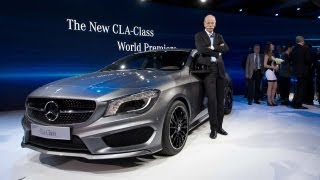 Mercedes-Benz CLA | World Premiere 2013