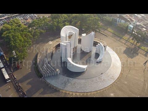 [Aerial Video / Foto Udara] Monumen Perjuangan Rakyat Jawa Barat (MPRJB)