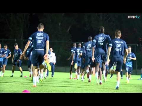 Equipe de France : entraînement à huis-clos à Tbilissi (Géorgie 2013)