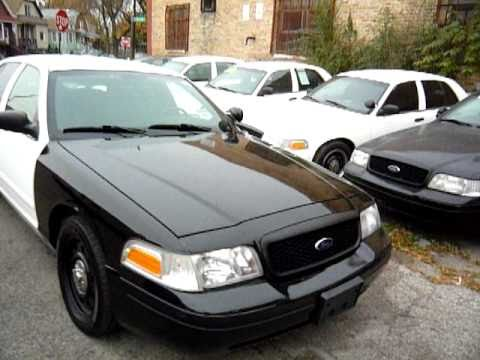 2007 FORD CROWN VICTORIA POLICE WHITE BLACK 7739884110