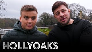 Hollyoaks Ryan's Exit - Behind the Scenes