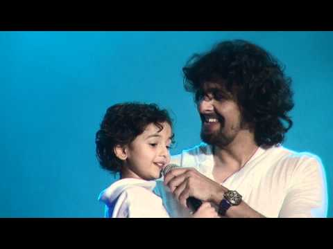 Sonu Nigam - Sings with Son Neevan Nigam - Live San Jose 2012...