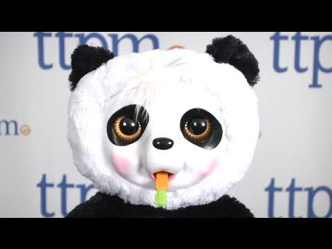 Animal Babies Nursery Crunchy Munchy Baby Panda from Jakks Pacific