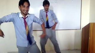 Pakistani college girls boys fun in class