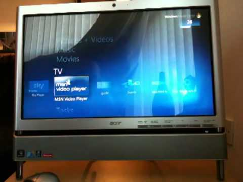 Acer All In One Desk Top Pc Youtube