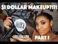 FULL FACE  1$ MAKEUP| SHOP MISS A | PART 1