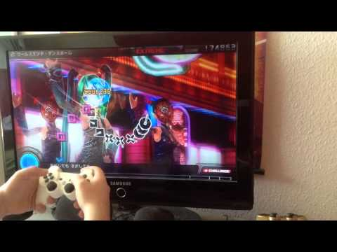 [Project Diva F] World Ends Dancehall [EXTREME Perfect]