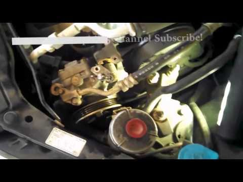 Timing belt replacement Honda Civic 2004 1.7L PART 1 Water pump 2001-2005 Install Remove Replace