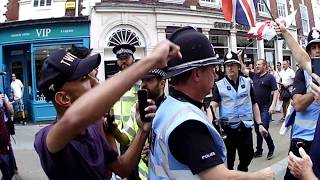 EDL PROTEST MARCH IN WORCESTER -COPYRIGHT VIDEO.