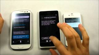 Nokia Lumia 900 vs. Galaxy S3 vs. iPhone 4S [DE]