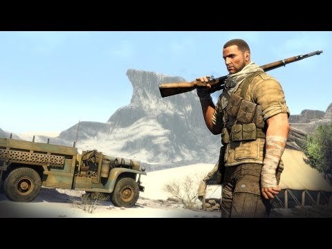 Sniper Elite 3 - First 15 Minutes Gameplay (PS4)