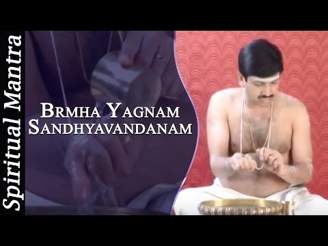 Brmha Yagnam In See Learn And Perform Sandhyavandanam (yajur - Smartha) video