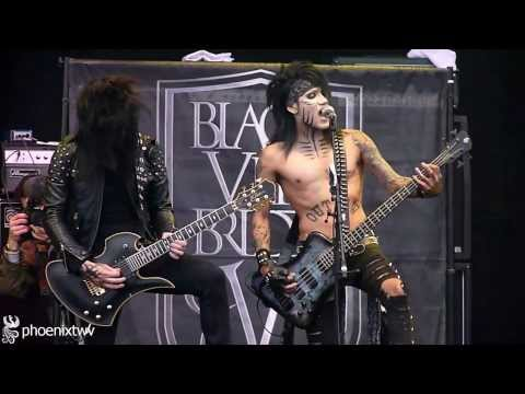 Black Veil Brides - Fallen Angels (live At Download Festival 2011) 12 6 11 video