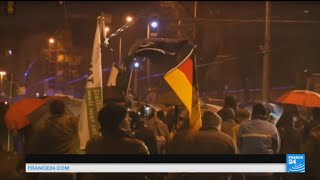 Germany: thousands of protesters march against open policy to migrants after sexual assaults scandal