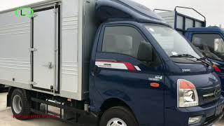 Xe tải thùng DAISAKI TMT 2,4 tấn,3,45 tấn thùng kín giá 344tr và 370tr