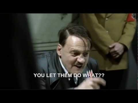 Hitler Rants About Virgin Media And Their 'superhub' video