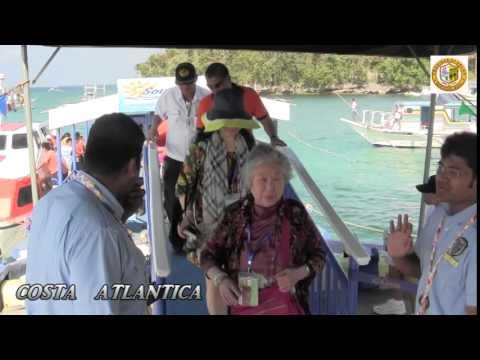 Costa Atlantica (Boracay Island maiden call last March 11, 2014)