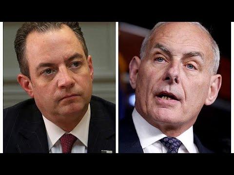 Trump nombra al secretario de Seguridad Nacional John Kelly como sustituto de Reince Priebus al…