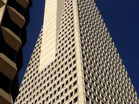 The Transamerica Pyramid - The tallest building in San Francisco