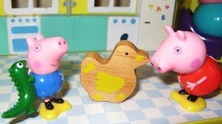 Пеппа, уточка и мяч. Свинка Пеппа на русском | Peppa Pig, duck and ball