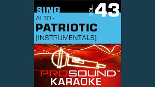 America The Beautiful Karaoke Instrumental Track In The Style Of Patriotic