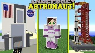 Minecraft: WE BECOME ASTRONAUTS!! - ASTRONAUT TRAINING SCHOOL - Custom Map