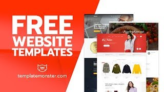 FREE Website Templates by TemplateMonster