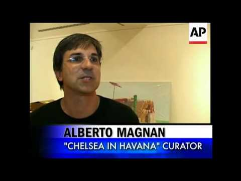 Chelsea artists, galleries are being featured in an exhibit in Havana. The organizers hope this is a