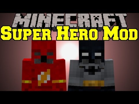 Minecraft Mod Showcase - Super Hero Unlimited Mod - Mod Review