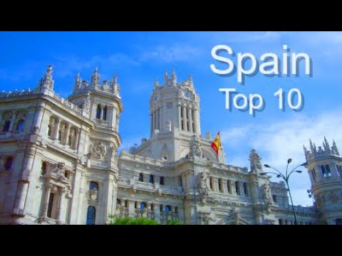 Spain Top Ten Things To Do presented by Donna Salerno Travel