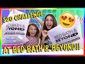 $20 BED BATH & BEYOND TOY CHALLENGE | We Are The Davises