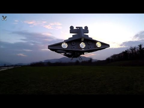 Imperial Star Destroyer joins growing fleet of 'Star Wars' drones, Ep. 197