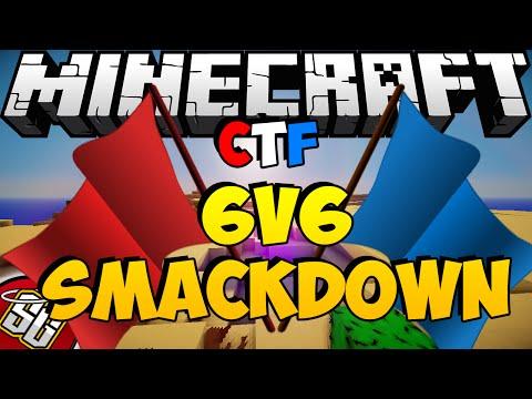 Minecraft | CTF | 6v6 Smackdown | HG Veterans v.s. CTF Professionals