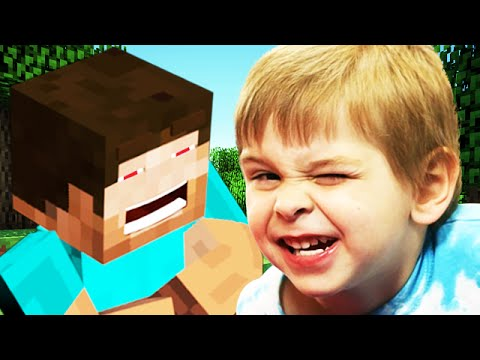 Trolling the CUTEST 6 YEAR OLD on Minecraft EVER Minecraft Trolling