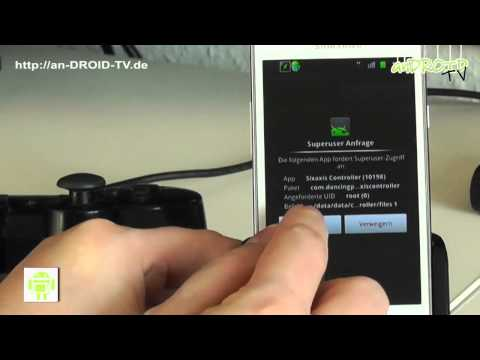 [Tutorial] PS3 Controller mit anDROID Shadowgun -  anDROID TV