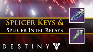 Destiny - Rise of Iron: How to get Splicer Keys and Splicer Intel Relays