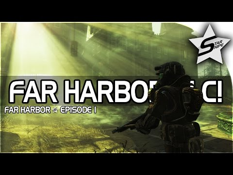 "Fallout 4 Far Harbor DLC Gameplay Part 1  – ""FAR HARBOR & THE MYSTERY!"" (NEW DLC!)"